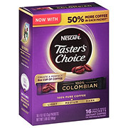Nescafe Tasters Choice 100% Colombian Sticks