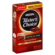 Nescafe Tasters Choice House Blend Light-Medium Roast Instant Coffee Packets
