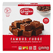 Neslte Carnation Classic Chocolate Famous Fudge Kit
