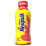 Nesquik Strawberry Low Fat Milk