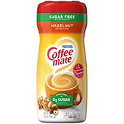 Nestle Coffee-Mate Sugar Free Hazelnut Powdered Coffee Creamer