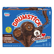 Nestle Drumstick We Love Chocolate Cookie Dipped Sundae Cones Variety Pack