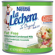 Nestle La Lechera Sweetened Condensed Fat Free Milk
