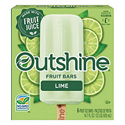 Nestle Outshine Lime Fruit Bar