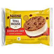 Nestle Toll House Chocolate Chip Cookie Ice Cream Sandwich