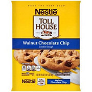 Nestle Toll House Walnut Chocolate Chip Cookie Dough