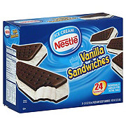 Nestle Vanilla Ice Cream Sandwiches
