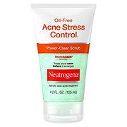 how to use neutrogena acne stress control scrub