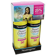 Neutrogena Beach Defense Spray Suncreen SPF 30 Twin Pack