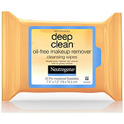 Neutrogena Deep Clean Oil-Free Makeup Remover Cleansing Wipes