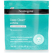 Neutrogena Deep Clean Purifying 100% Hydrogel Mask