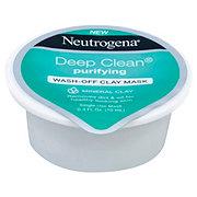 Neutrogena Deep Clean Purifyng Wash-Off Clay Mask