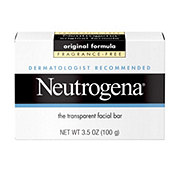 Neutrogena Facial Cleansing Bar Fragrance Free