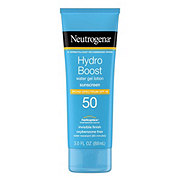 Neutrogena Hydro Boost Water Gel Lotion Sunscreen Broad Spectrum SPF 50