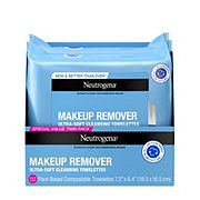 Neutrogena Make Up Removing Towelettes, Twin Pack