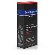 Neutrogena Men Triple Protect Face Lotion Broad Spectrum SPF 20
