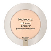 Neutrogena Mineral Sheers Compact Powder Foundation 10 Classic Ivory
