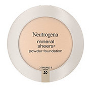 Neutrogena Mineral Sheers Compact Powder Foundation 20 Natural Ivory