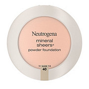 Neutrogena Mineral Sheers Compact Powder Foundation 40 Nude