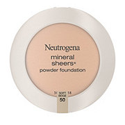 Neutrogena Mineral Sheers Compact Powder Foundation 50 Soft Beige