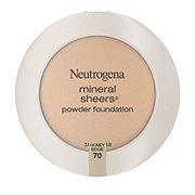 Neutrogena Mineral Sheers Compact Powder Foundation 70 Honey Beige