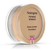 Neutrogena Mineral Sheers Loose Powder Foundation 70 Honey Beige