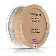 Neutrogena Mineral Sheers Loose Powder Foundation 80 Tan