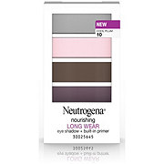Neutrogena Nourishing Long Wear Eye Shadow + Built-In Primer 10 Cool Plum