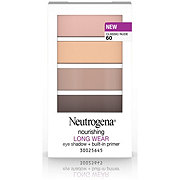 Neutrogena Nourishing Long Wear Eye Shadow + Built-In Primer 60 Classic Nude