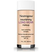 Neutrogena Nourishing Long Wear Liquid Makeup 60 Natural Beige