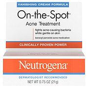 Neutrogena On-the-Spot Vanishing Cream Formula Maximum Strength Acne Treatment