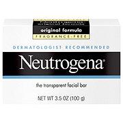 Neutrogena Original Formula Fragrance-Free Transparent Facial Bar