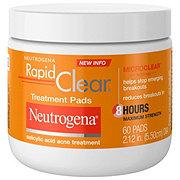 Neutrogena Rapid Clear Maximum Strength Treatment Pads