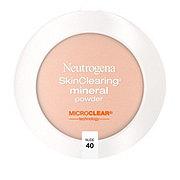 Neutrogena Skinclearing Mineral Powder 40 Nude