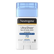 Neutrogena Ultra Sheer Face & Body Stick Sunscreen Broad Spectrum SPF 70