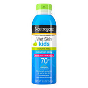 Neutrogena Wet Skin Kids Sunscreen Spray Broad Spectrum SPF 70+