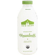 New Barn Almond Milk Organic Unsweetened