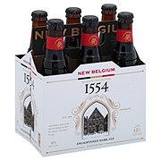New Belgium 1554 Enlightened Black Ale Beer 12 oz  Bottles