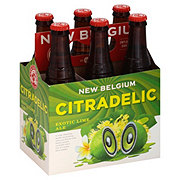 New Belgium Citradelic Lime 12 oz Bottles