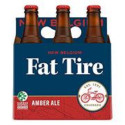 New Belgium Fat Tire Amber Ale Beer 12 oz Bottles