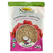 New England Naturals Granola Unsweetened Berry Coconut