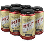 New Republic Dammit Jim! Texas Amber Ale  Beer 12 oz  Cans