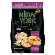 New York Style Bagel Crisps Everything