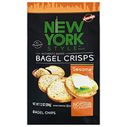 New York Style Original Bagel Crisps Sesame