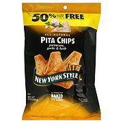 New York Style Parmesan Garlic & Herb Pita Chips