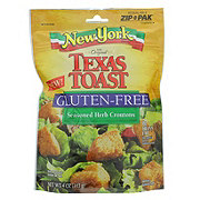 New York Texas Toast Croutons, Gluten-Free Seasoned Herb