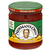 Newman's Own All Natural Medium Pineapple Chunky Salsa