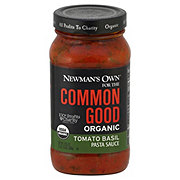 Newman's Own Common Good Organic Tomato Basil Sauce
