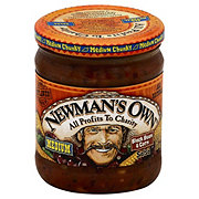 Newman's Own Medium Chunky Black Bean and Corn Salsa