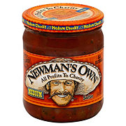 Newman's Own Medium Chunky Salsa